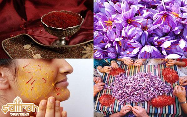 Công dụng của saffron đối với sức khỏe