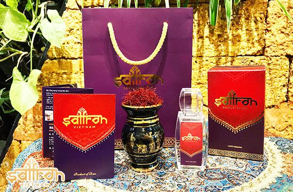 Nhụy Hoa Nghệ Tây Saffron Shyam hộp 1 g