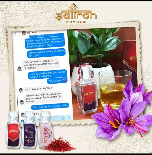 Saffron giúp ngủ ngon, cải thiện chứng mất ngủ