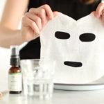 Mặt nạ lotion mask được sử dụng phổ biến.
