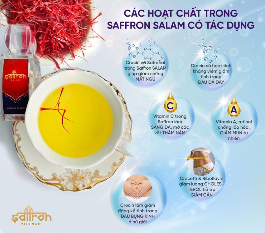 C�NG D畛�G SAFFRON SALAM