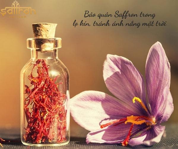 Hướng dẫn bảo quản saffron