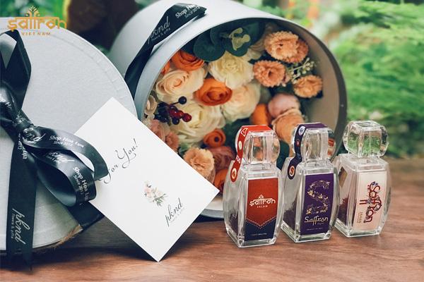 Các sản phẩm nhụy hoa nghệ tây của Saffron VIETNAM
