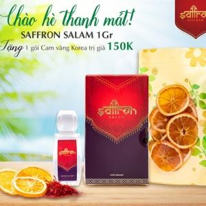 Mua 1Gr Saffron SALAM TẶNG 1 gói cam vàng Korea sấy lạnh