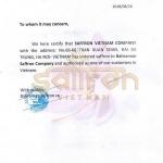 Saffron an toàn có kiểm soát là gì? Cách nhận biết Saffron an toàn