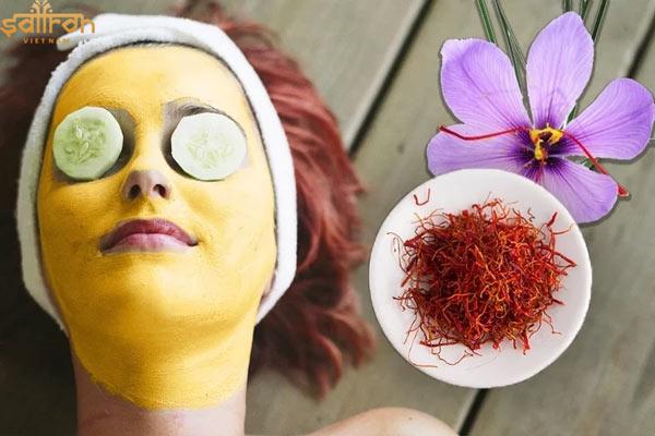 Mặt nạ Saffron trẻ hóa làn da từ bên ngoài