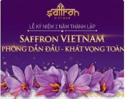 Sự kiện 2 năm thành lập Saffron VIETNAM