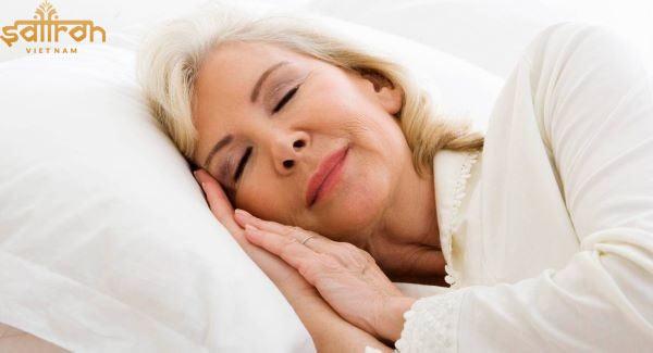 Saffron giúp ngủ ngon, ngủ sâu giấc