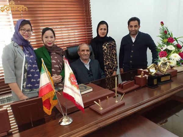 Saffron VIETNAM ký hợp đồng cùng Bahraman Saffron Company tại Iran