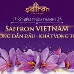 Thông báo: Tham gia sự kiện kỷ niệm 2 năm thành lập Saffron VIETNAM