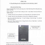 THÔNG BÁO: Thay đổi thông tin trên vỏ hộp Saffron SALAM, SHYAM & JAHAN