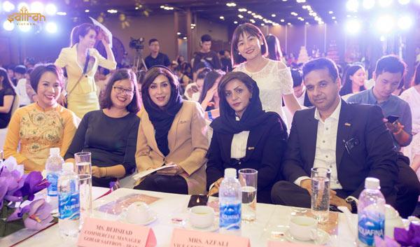 Khách mời đặc biệt phái đoàn công ty Gohar Saffron, Iran