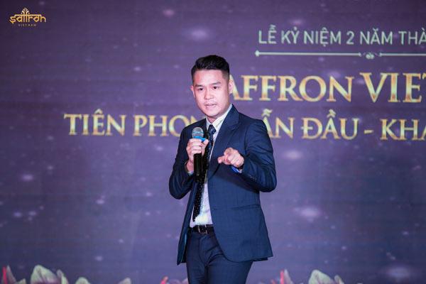 Giám đốc Dự án trình bày về giá trị của Saffron VIETNAM