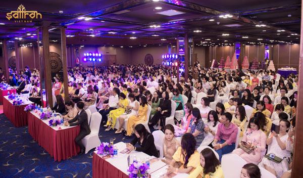 Hơn 700 người tham dự lễ kỉ niệm 2 năm thành lập công ty Cổ phần Saffron Việt Nam
