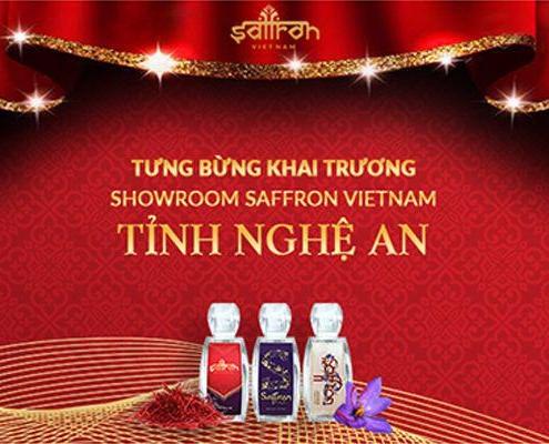 Khai trương showroom Saffron VIETNAM tại Nghệ An