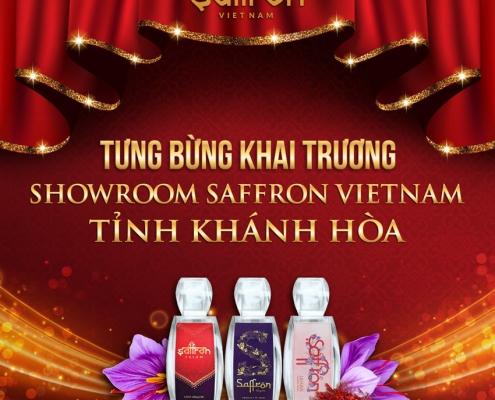 Khai trương showroom Saffron VIETNAM tỉnh Khánh Hòa