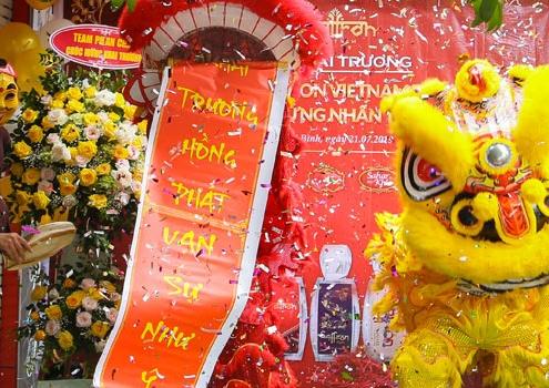 Khai trương showroom Saffron VIETNAM tỉnh Thái Bình