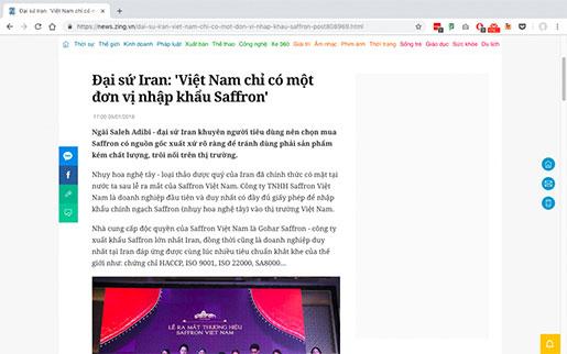 saffron-việt-nam-trên-Zingnews