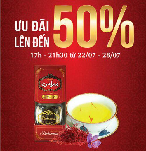 saffron-vietnam-khuyen-mai-khai-truong-tai-bigc-2