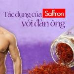 Tác dụng của saffron cho nam giới