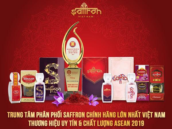 Trung tâm phân phối saffron chính hãng lớn nhất Việt Nam