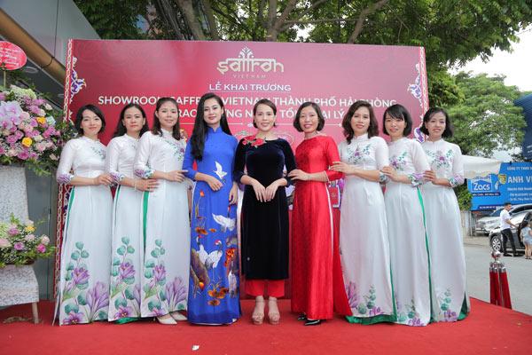 Khai trương showroom Saffron VIETNAM thành phố Hải Phòng