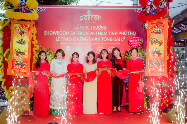 Khai trương Showroom Saffron VIETNAM tỉnh Phú Thọ