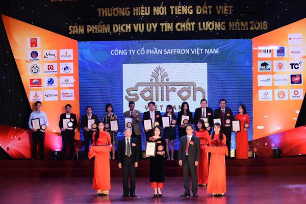 Saffron-VIETNAM-don-nhan-giai-thuong-hieu-noi-tieng-dat-viet