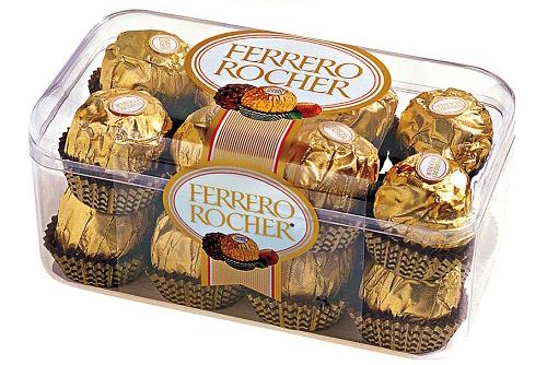 Hộp Socola Ferrero Rocher 16v