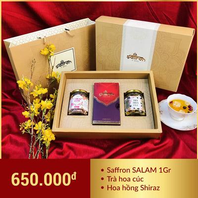 hộp quà tết saffron 2020