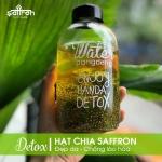 Saffron hạt chia - detox mát lạnh cho ngày hè