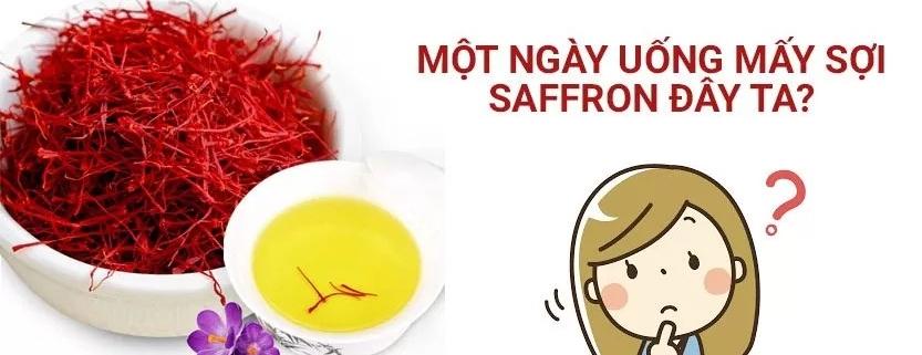 nen uong bao nhieu saffron 2 fix