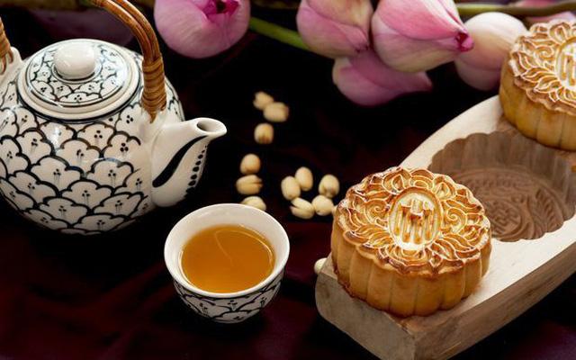 trà trung thu thích hợp thưởng cùng bánh