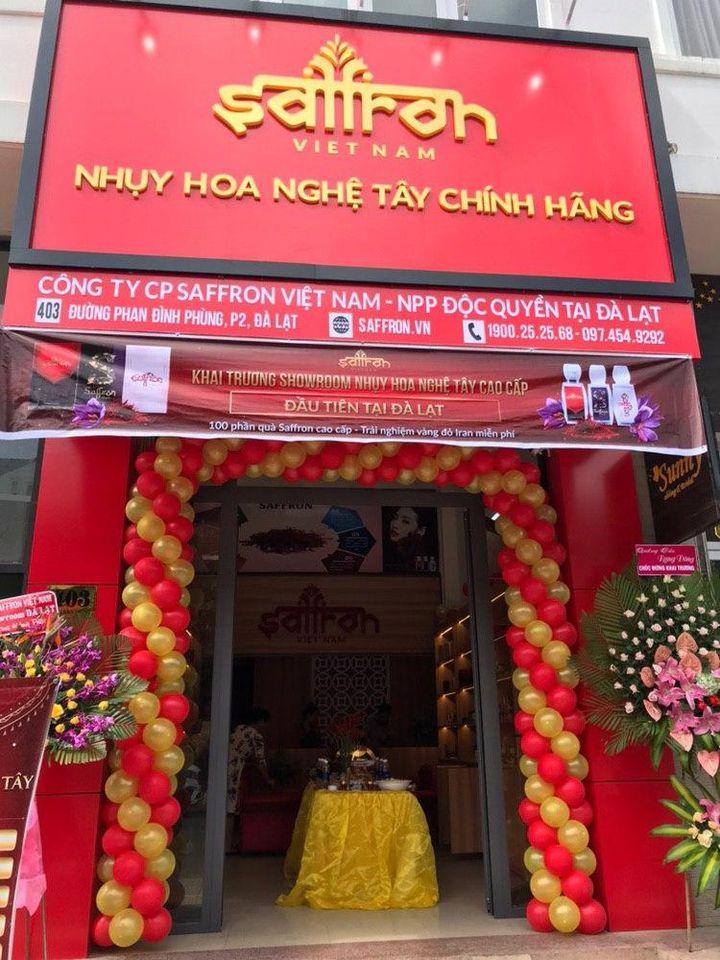 showroom saffron vietnam tại Đà Lạt nằm ở trung tâm thành phố