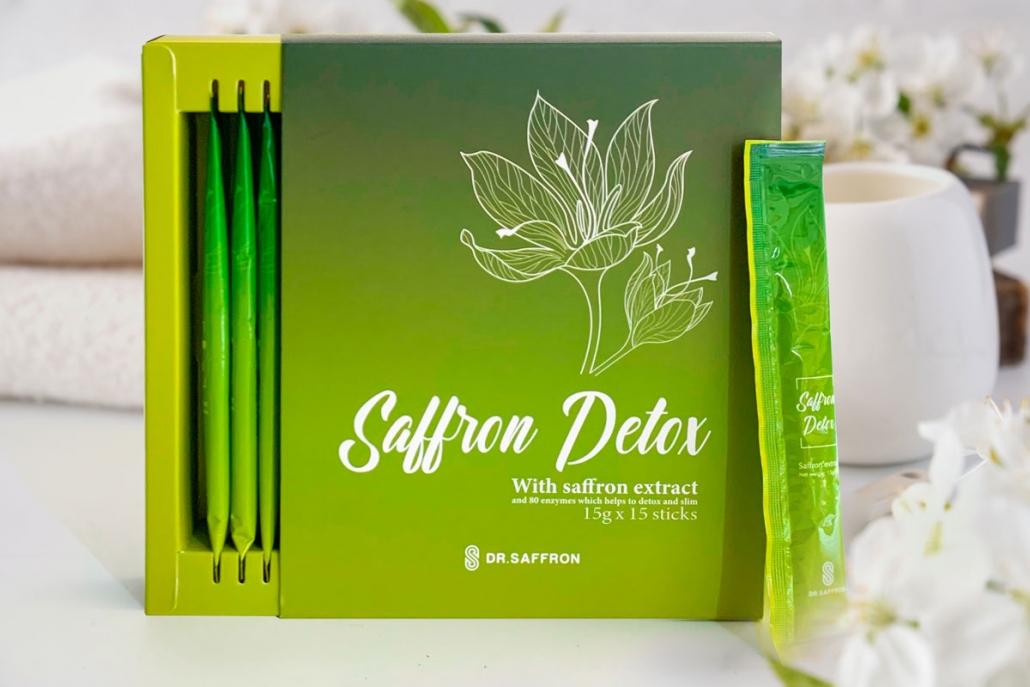 H畛� s畉� ph畉� saffron Detox
