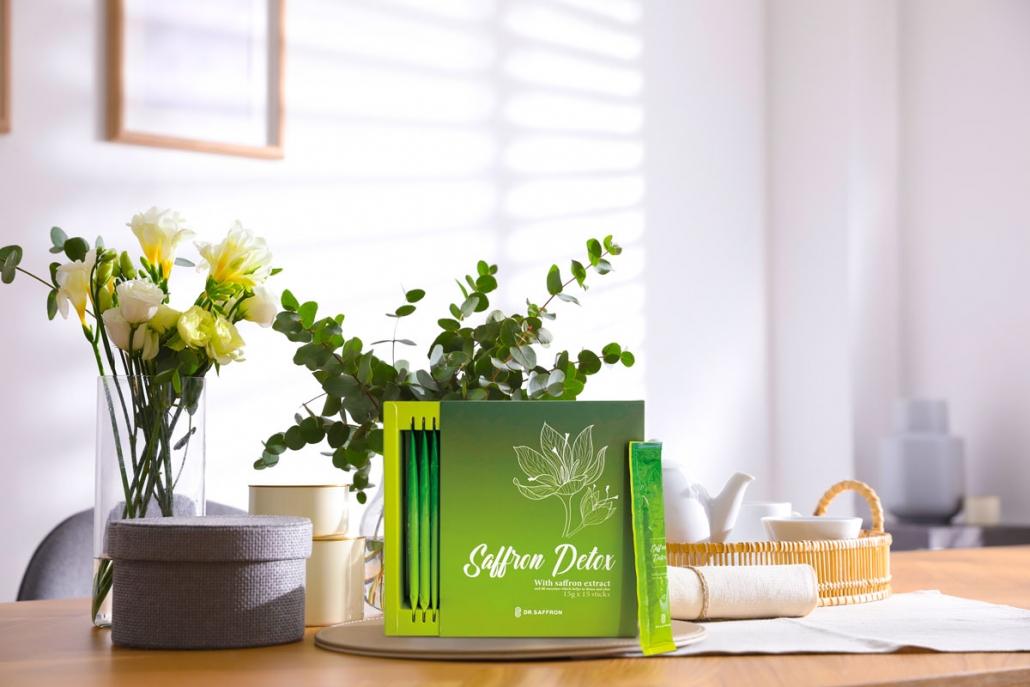 Hộp sản phẩm saffron Detox 2