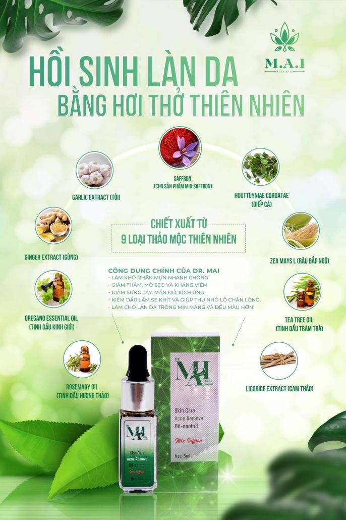 Th�nh ph畉� c畛� serum Mix Saffron