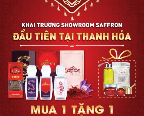khai trương showroom saffron VIETNAM đầu tiên tại Thanh Hóa