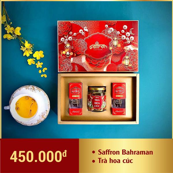 hộp quà tết saffron bahraman 2021