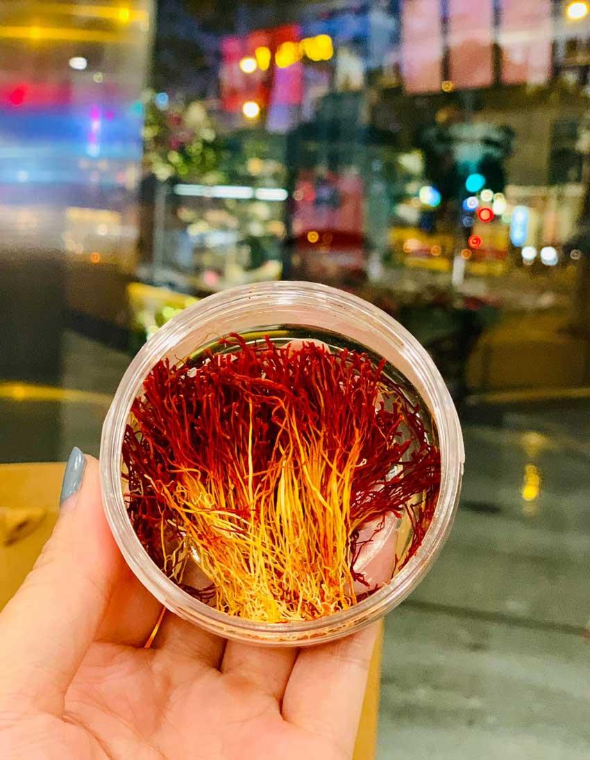 Tác dụng của saffron nguyên bản hỗ trợ giảm cân
