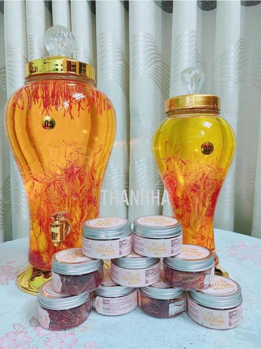 Tác dụng của saffron nguyên bản tăng cường sinh lý