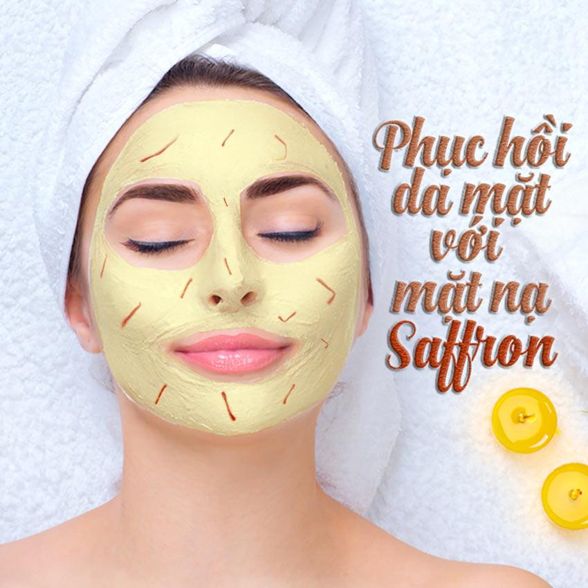 C叩ch �畉� m畉� n畉�Saffron m畉� ong