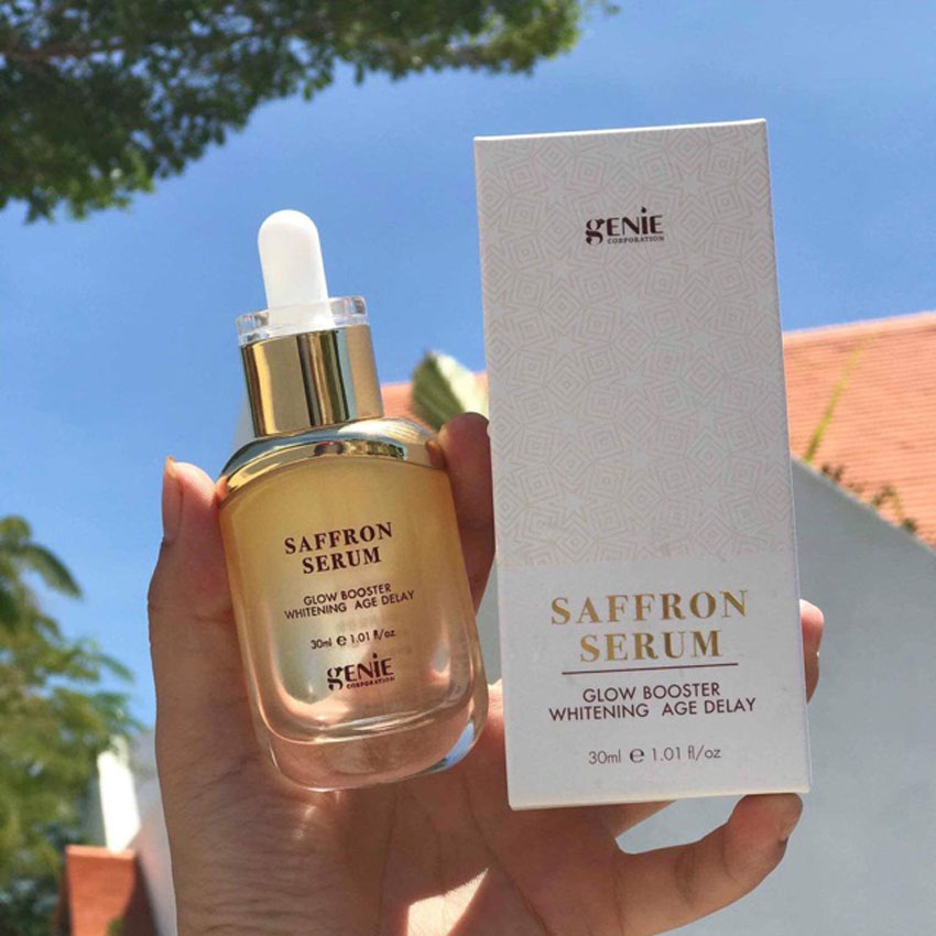 4. Genie Saffron Serum