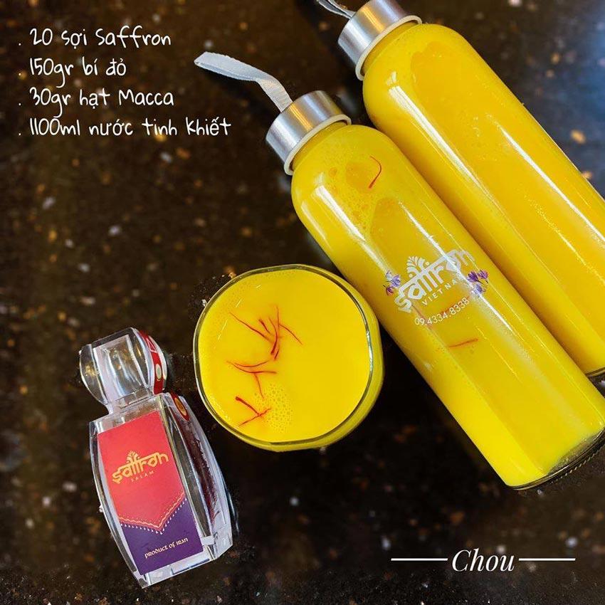 4. S畛� h畉� saffron