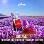 Saffron organic kh叩c g狸 v畛� saffron ti棚u chu畉� th担ng th動畛�g?