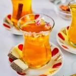 Saffron tea: c叩ch pha tr� ngh畛�t但y ki畛� truy畛� th畛�g Iran